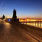 Charles Bridge in Prague by lucagrilli