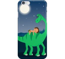 Arlo the good dinosaur night iPhone Case/Skin