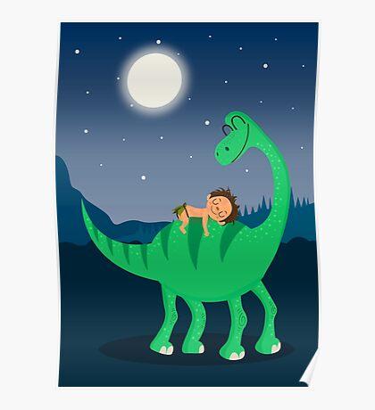 Arlo the good dinosaur night Poster