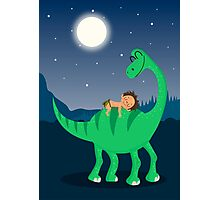 Arlo the good dinosaur night Photographic Print
