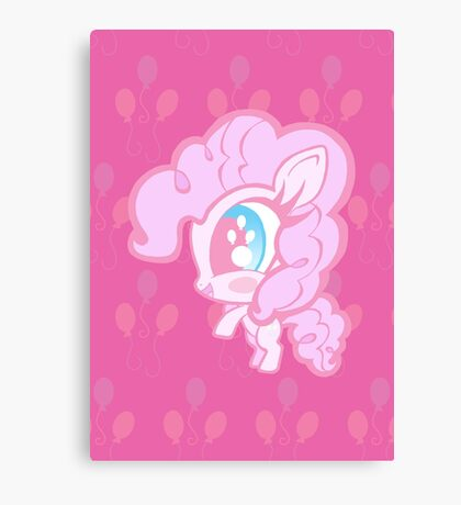 Weeny My Little Pony- Pinkie Pie Canvas Print