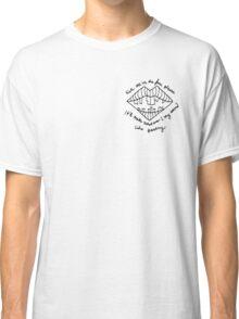 LIPSTICK COVERED MATTRESS Classic T-Shirt
