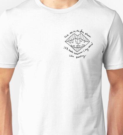 LIPSTICK COVERED MATTRESS Unisex T-Shirt