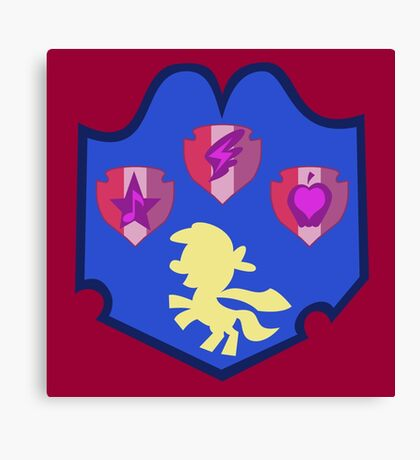 My little Pony - Crusaders Cutie Mark Special Canvas Print