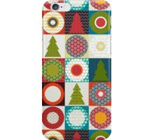 geo christmas iPhone Case/Skin