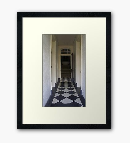 Hallway to the Light Framed Print