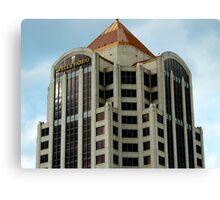 Wells Fargo Building - Roanoke, VA  ^ Canvas Print