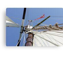 Mighty Mast Canvas Print