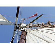 Mighty Mast Photographic Print