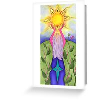 The Daykeeper Greeting Card