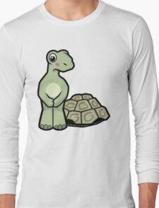 Tort-ally Naked Tortoise Long Sleeve T-Shirt