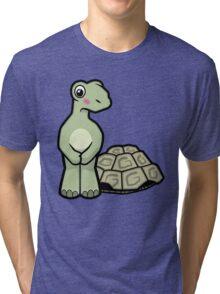 Tort-ally Naked Tortoise Tri-blend T-Shirt