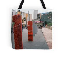 Chllly Bollards Tote Bag