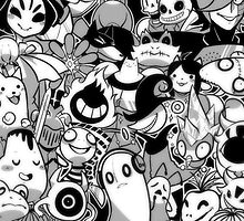 Undertale Monsters by Gyro724