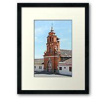Facade of Immantag Church Framed Print