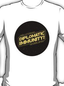 Hollywood Babble-On: Diplomatic Immunity! T-Shirt