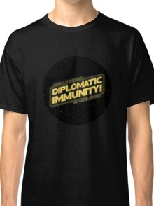 Hollywood Babble-On: Diplomatic Immunity! Classic T-Shirt