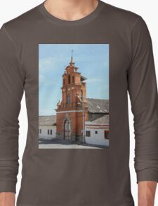 Facade of Immantag Church Long Sleeve T-Shirt