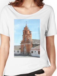 Facade of Immantag Church Women's Relaxed Fit T-Shirt