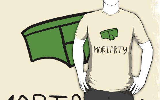 Moriarty - Black Outline by sherbear