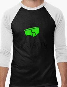 Moriarty - Black Outline Men's Baseball ¾ T-Shirt