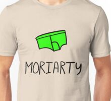 Moriarty - Black Outline Unisex T-Shirt