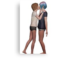 Life Is Strange - Max and Chloe 2 Canvas Print
