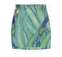 The Brushstrokes of Vincent Van Gogh - Irises Pencil Skirt