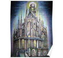 'Cathedrals'                           by Quinten Rhea Poster