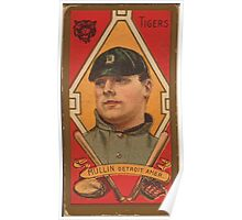 Benjamin K Edwards Collection George J Mullin Detroit Tigers baseball card portrait Poster
