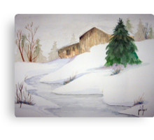 2011 Christmas Card Canvas Print