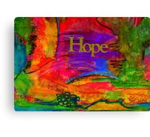 HOPE in All Colors Canvas Print