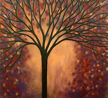 Impression of Autumn Tree by Diana Plaisance
