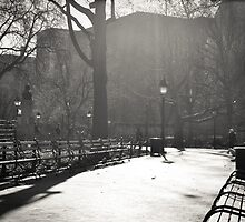 Park Benches by CaraH