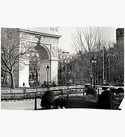 Washington Square Park Arch Poster