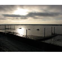 The River Crouch at Sunrise in December Photographic Print