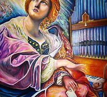My Saint Cecilia  by Quinten Rhea