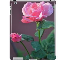 PINK ROSE AND YOUNG BUD iPad Case/Skin