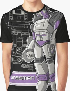 SNES Man Graphic T-Shirt