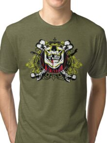 Zombie shield 1 Tri-blend T-Shirt
