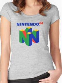 N64 Women's Fitted Scoop T-Shirt