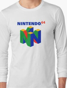 N64 Long Sleeve T-Shirt