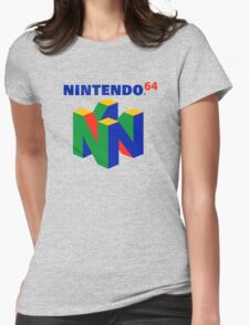 N64 Womens Fitted T-Shirt