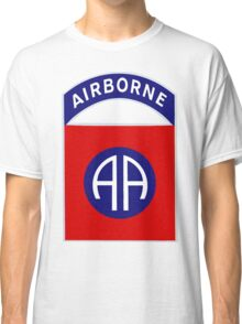 82nd Airborne Division - The All Americans Insignia Classic T-Shirt