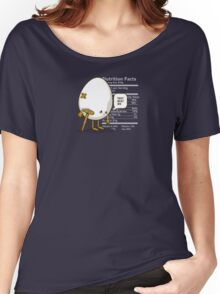 They Beat Me | Funny Egg Women's Relaxed Fit T-Shirt