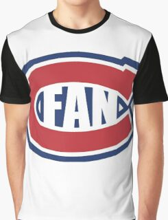 Montreal Canadians Fan Graphic T-Shirt