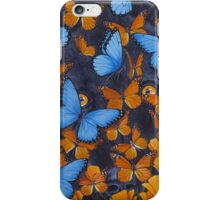 Autumn Butterflies iPhone Case/Skin