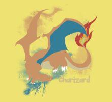 Charizard Silhouette Shirt Kids Clothes