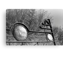 Old Timer Gate Canvas Print
