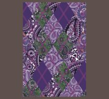 Indian Paisley & Imperial Argyle Pattern Kids Clothes